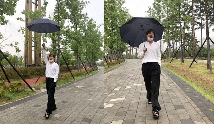 BTSテヒョン(V)の散歩路、釜山市...