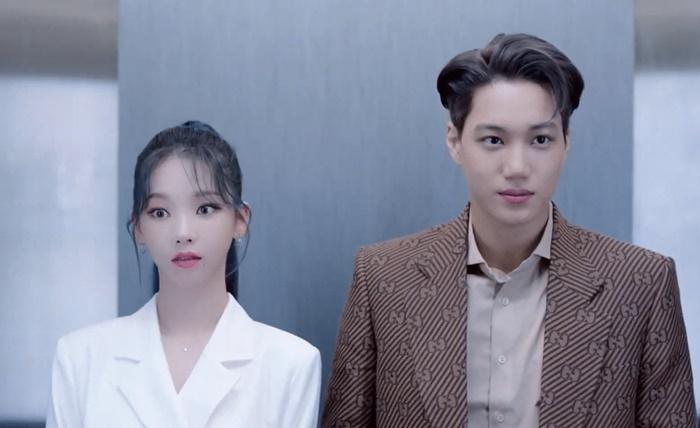 aespaカリナ x EXOカイ、ダンス披露 - 現代自「ツーソン」ショーケース ...