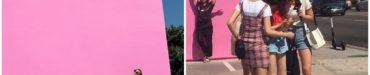IZOneユジン、LA写真公開+ターゲットで目撃