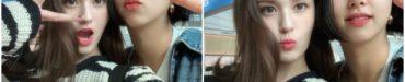 ソミ、TWICEチェヨンとの写真をアップ - 空港で偶然会う