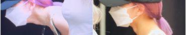 宮脇咲良,紫髪